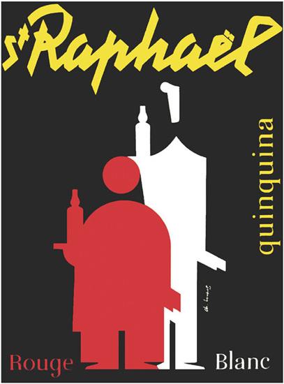 St Raphaël - Affiche 1953