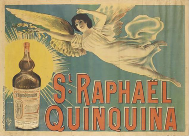 St Raphaël - Affiche archange 1830