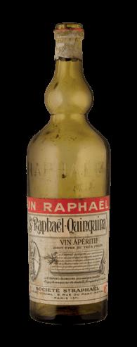 St Raphaël - bouteille ancienne