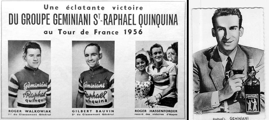 Apéritif St Raphaël - Affiche - cyclisme