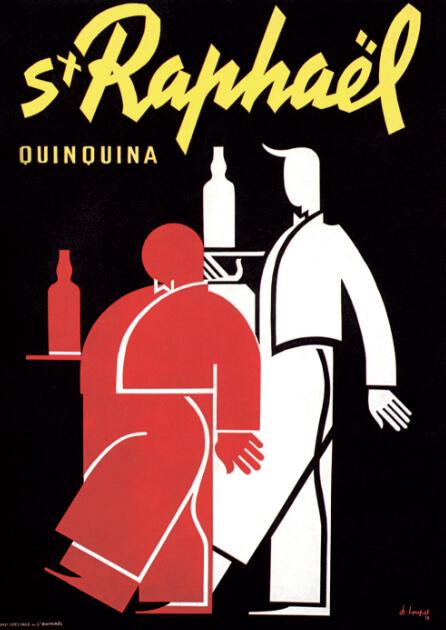 Apéritif St Raphaël - Affiche - Quinquina