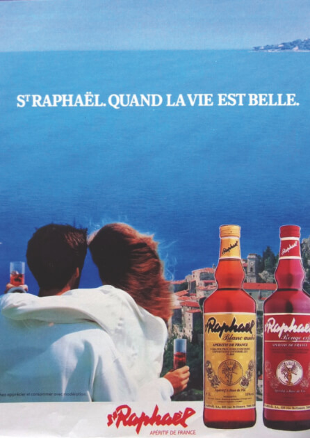 Apéritif St Raphaël - Affiche - Quand la vie est belle