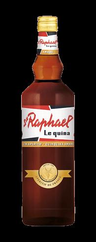 Apéritif St Raphaël - Bouteille - Le quina ambré