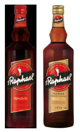 Apéritif St Raphaël - Bouteilles - Rouge et ambré
