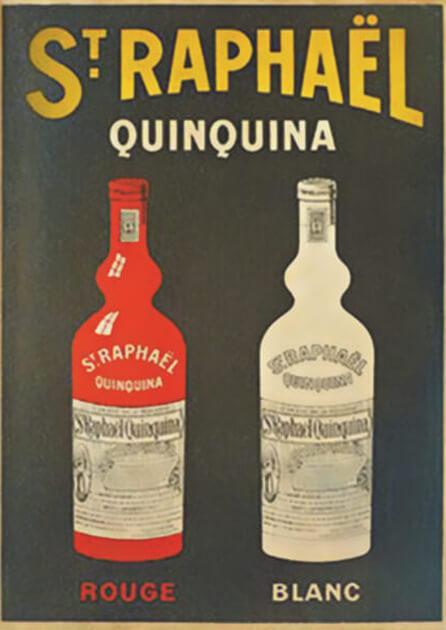 Apéritif St Raphaël - Affiche - Quinquina Rouge et blanc